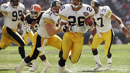 Hall of Fame Steelers cornerback Rod Woodson was the Steelers&#039; top pick in 1987, one of the hits the Steelers had in the first round in the 1980s.