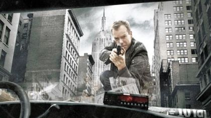 24:  Kiefer Sutherland as Jack Bauer.