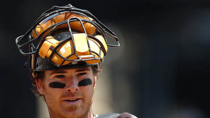 Pirates catcher Ryan Doumit is on the disabled list due to a concussion.