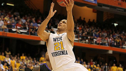West Virginia guard Joe Mazzulla.