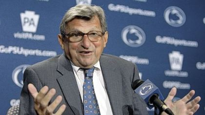 Penn State head football coach Joe Paterno.