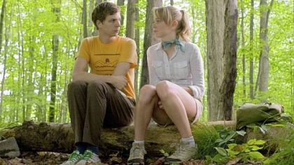 Michael Cera and Portia Doubleday star in &quot;Youth in Revolt.
