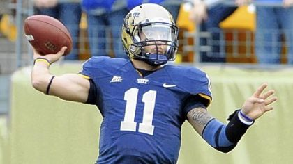 Pitt quarterback Bill Stull threw for 21 touchdowns last season.