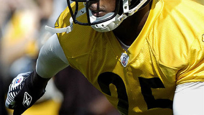 Steelers safety Ryan Clark.
