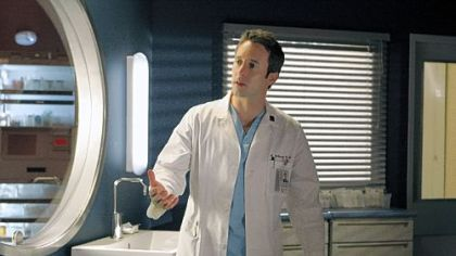 Alex O&#039;Loughlin portrayed Dr. Andy Yablonski on &quot;Three Rivers,&quot; the CBS medical drama whose pilot was filmed in Pittsburgh. The series has since been canceled.