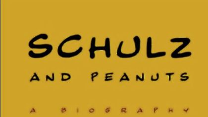 "Chip Kidd designed the cover of ""Schulz and Peanuts,"" a biography by David Michaelis."