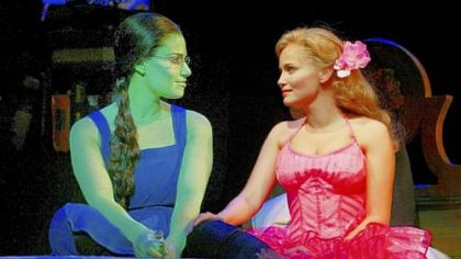 "Gregory Maguire's book ""Wicked: The Life and Times of the Wicked Witch of the West"" evolved into the Broadway musical hit ""Wicked,"" starring Idina Menzel, left, and Kristin Chenoweth."