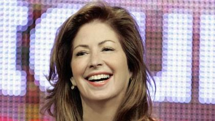 Dana Delany says she's lucky to be alive following a recent car accident.