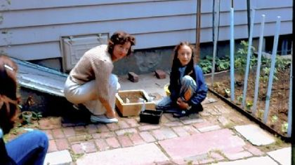 At age 8, Alice already was gardening with her mother, Helen, at their home in New Hyde Park, N.Y.