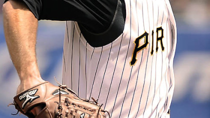 Pirates pitcher Zach Duke went 11-16 last season.