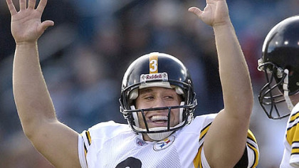 The Steelers placed the franchise tag on kicker Jeff Reed.