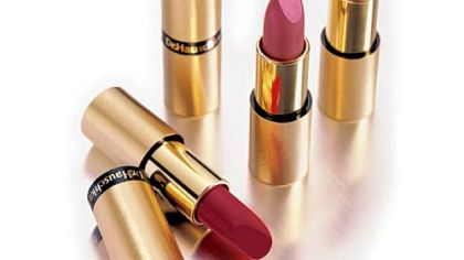 Safe Dr. Hauschka lipsticks available at Whole Foods Market.