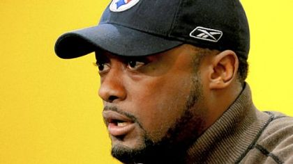 Mike Tomlin has a year plus an option remaining on his original Steelers contract.