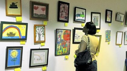 The exhibit continues through Aug. 26 on the lower level of the Department of Human Services, 1 Smithfield St., Downtown.