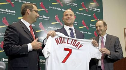 Re-signing Matt Holliday in St. Louis this week earned big headlines around baseball, but what will it do to the Cardinals' financial flexibility in coming years?