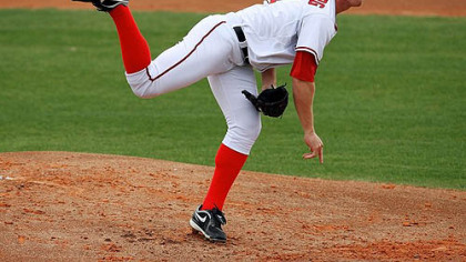 Nationals pitcher Stephen Strasburg.