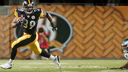 Former Steelers running back Willie Parker joined the Redskins.