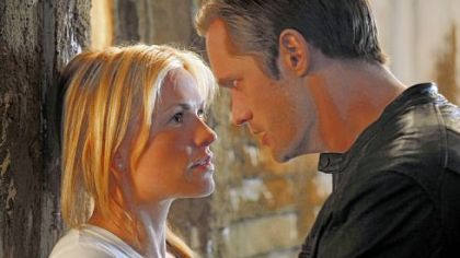 "HBO's ""True Blood,"" whose cast includes Anna Paquin, left, and Alexander Skarsgard returns for a third season Sunday night."