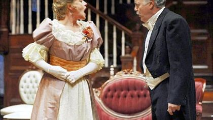"The best supporting actress of the year was Deirdre Madigan, who played Birdie in Public Theater's ""The Little Foxes."" John Shepard portrayed Oscar, her husband."