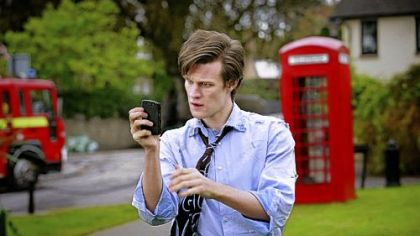 Matthew Smith is the latest actor to fill the shoes of &quot;Doctor Who.&quot;