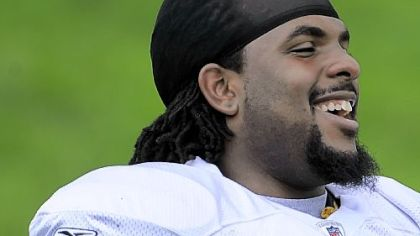 Willie Colon -- Has a torn Achilles tendon