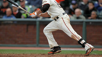 Freddy Sanchez is batting .327 for the Giants after missing seven weeks to shoulder surgery.