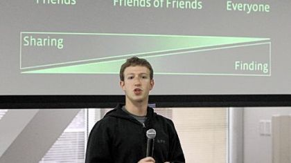Facebook CEO Mark Zuckerberg talks about the social network site's new privacy settings in Palo Alto, Calif.