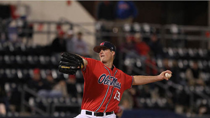 Mississippi pitcher Drew Pomeranz.