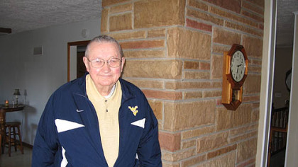 Charlie Huggins, father of West Virginia coach Bob Huggins, coached high school basketball in eastern Ohio for 27 years.