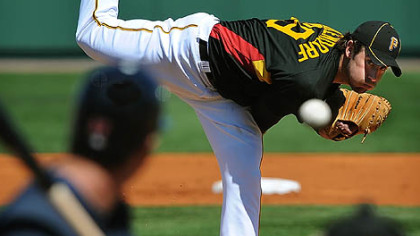 Pirates pitcher Ross Ohlendorf has a 4.15 ERA in spring training.