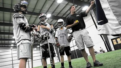 Southpointe Fieldhouse is owned by Matt Giglotti, who also coaches Pittsburgh Select lacrosse team.