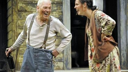 "Tom Atkins led a lisat of best supporting actors for his performance as the crusty father to Beth Wittig in Pittsburgh Public Theater's production of ""A Moon for the Misbegotten."""