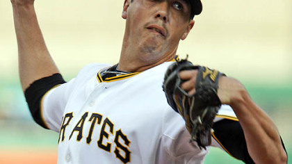 Pirates pitcher Jeff Karstens.
