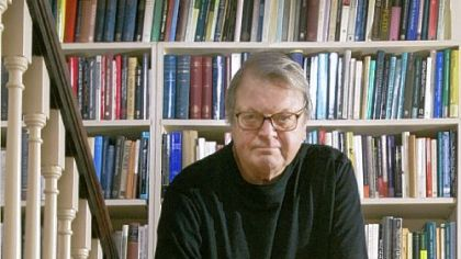 Author Garry Wills at his home in Evanston, Ill.
