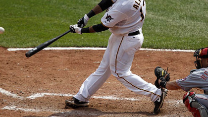 The Pirates promoted third baseman Pedro Alvarez.
