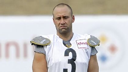 Jeff Reed arrived at camp already an unhappy camper when it came to his contract.