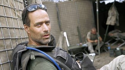 Sebastian Junger spent 15 months with U.S. Army in Afghanistan.