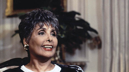 June 1995 file photo of singer and actress Lena Horne.