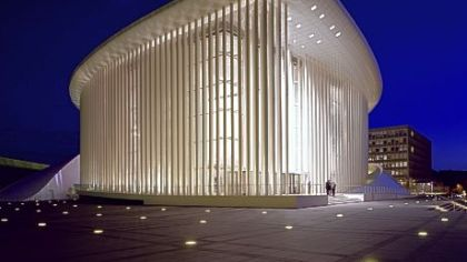 Philharmonie, Luxembourg, will be one of the concert halls on the tour for the Pittsburgh Symphony Orchestra.