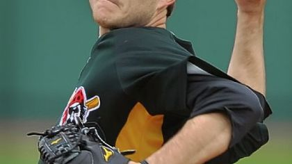 Pirates pitching prospect Bryan Morris.