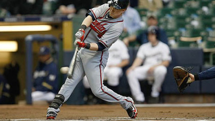 Braves outfielder Nate McLouth will return to PNC Park tonight.