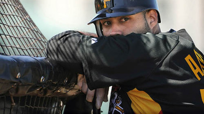 Pirates minor league prospect  Pedro Alvarez