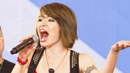 "Former ""American Idol"" contestant Siobhan Magnus performed in New York's Central Park during the July 9 broadcast of ABC's ""Good Morning America."""