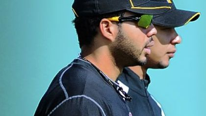 Top prospects Pedro Alvarez and Jose Tabata were cut from the Pirates' spring roster.