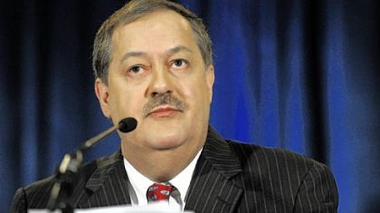 Massey Energy CEO Don Blankenship received salary, bonus, stock, stock options and other benefits valued at $17.8 million last year, up 62 percent from 2008. The amount included more than $358,000 for the use of Massey's corporate jets.