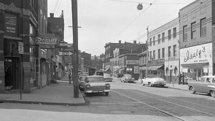 A 1958 photo shows the Isaly&#039;&#039;s at the corner of Butler and 43rd streets in Lawrenceville. It is now the Wild Card store.