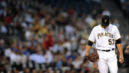 "Pitcher Zach Duke on the Pirates' rotation: ""The potential is there."""