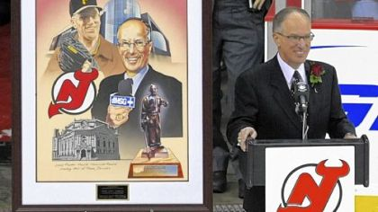 Mike Emrick: 3,000 NHL broadcasts and counting.