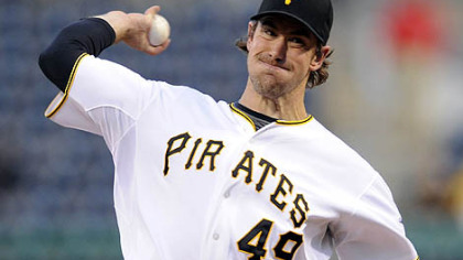 Pirates pitcher Ross Ohlendorf is scheduled to make his next start Monday despite being hit in the head by a line drive Wednesday.