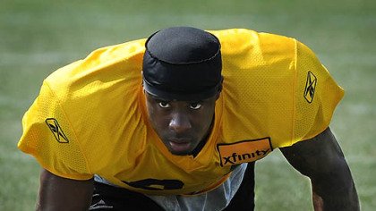 Steelers cornerback Ike Taylor is entering the final year of his contract.